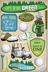 On The Green Golf Stickers