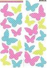 Polkadot Butterflies Stickers