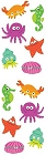Cute Sea Life Stickers