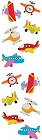 Chubby Airplanes Stickers