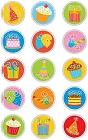 Shiny Happy Birthday Icons Stickers