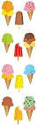 Ice-Creams Stickers