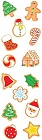 Christmas Cookies Stickers