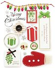 3D Christmas Greetings Stickers