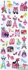Shoe Fashion Epoxy Kawaii Stickers