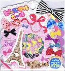 Bonne Journee Paris Kawaii Sticker Sack