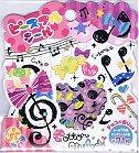 Cotton Melody Music Kawaii Sticker Sack