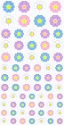 Flowers Joy Kawaii Stickers