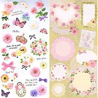 Flowers & Butterflies Kawaii Stickers