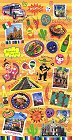 Mexico Travel Kawaii Stickers