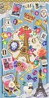 Eiffel Tower Treasures Kawaii Stickers