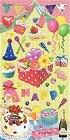 Happy Birthday Kawaii Stickers