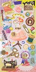 Sewing Kawaii Stickers