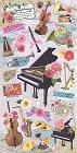 Musical Symphony Kawaii Stickers