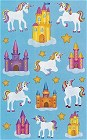 Castles &amp; Unicorns Stickers