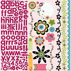 Petal Pushers With Alphabet Stickers