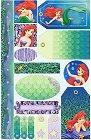 Little Mermaid Tags Stickers
