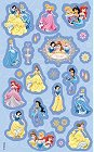 Blue Disney Princesses Stickers
