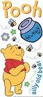 Winnie The Pooh & Hunny Pot Stickers