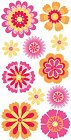 3d Floral Fusion Flowers Stickers