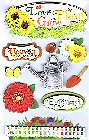 3D Gardening Stickers