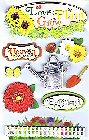 3D Gardening Stickers