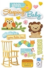 3D Sleeping Baby Stickers