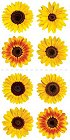 Mini Sunflowers Stickers
