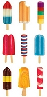 Popsicles Stickers