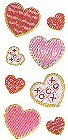 Valentines Cookies Stickers