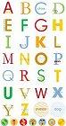 Dog Circle Alphabet Stickers