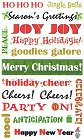Christmas Cheer Quotes Stickers