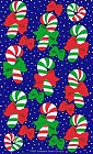 Christmas Candy Canes Stickers