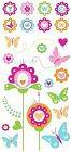 Bubblegum Flowers Rub-Ons