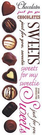 Chocolates Rub-Ons