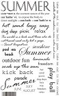 Summer Quotes Rub-Ons