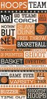 Basketball Quotes Stickers