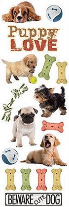 Glitter Dogs Rub-Ons