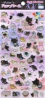 Kutusita Nyanko Cat Epoxy 1 Kawaii Stickers