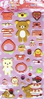 Puffy Rilakkuma January Kawaii Stickers
