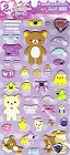 Puffy Rilakkuma February Kawaii Stickers