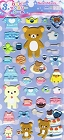 Puffy Rilakkuma March Kawaii Stickers