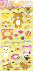 Puffy Rilakkuma June Kawaii Stickers