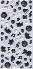 Kutusita Nyanko Cat Puffy 1 Kawaii Stickers