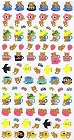 Rilakkuma Afternoon Tea Kawaii Stickers