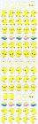 Mini Yellow Ducks Kawaii Stickers