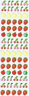 Mini Fruit Kawaii Stickers