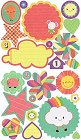 Sweet Treats Elements Stickers