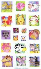 Smiling Farm Animals Stickers