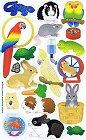 Pet Shop Animals Stickers